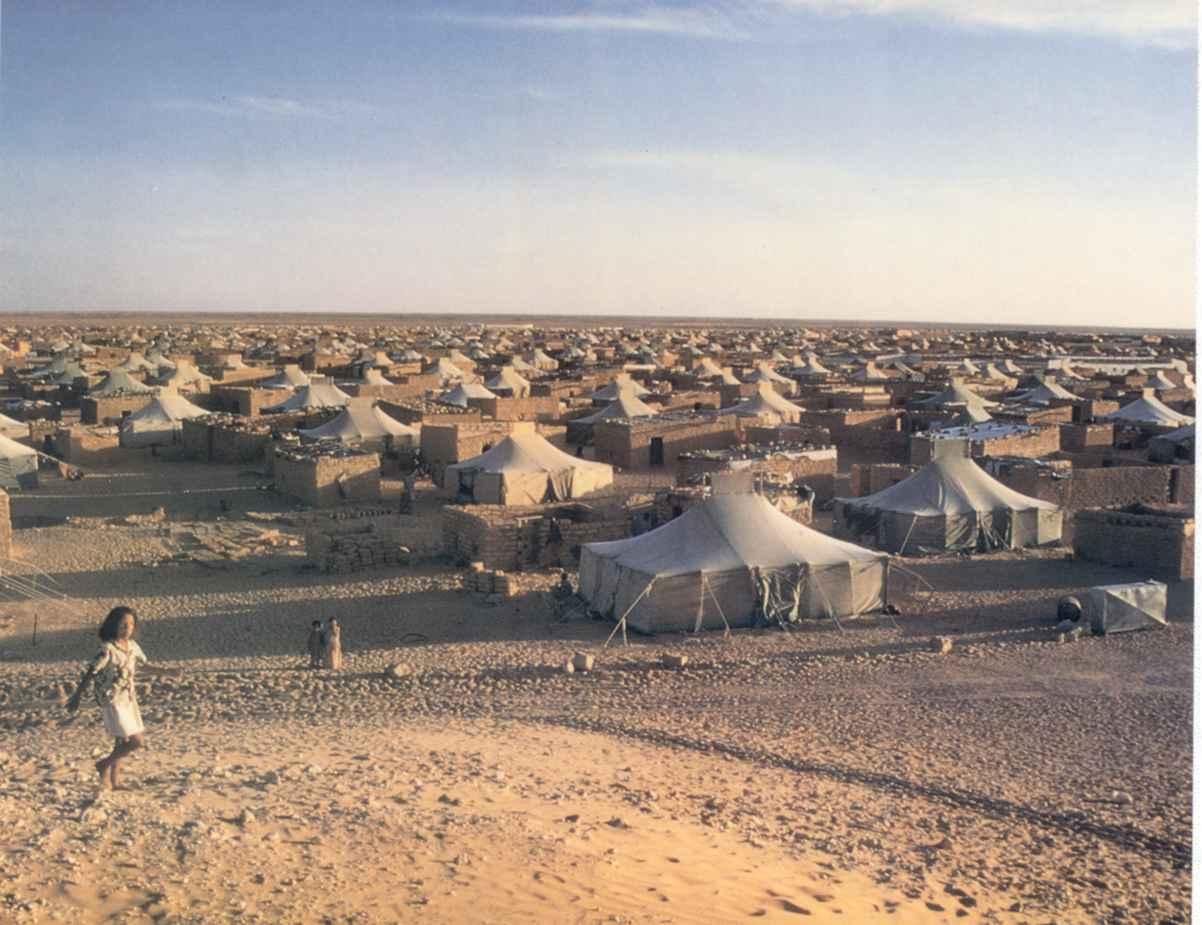 Campamentos en Tinduf